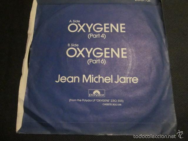 Discos de vinilo: JEAN MICHEL JARRE - OXIGENE PART 4 Y 6 - SN - EDICION INGLESA DEL AÑO 1977. - Foto 2 - 55368278