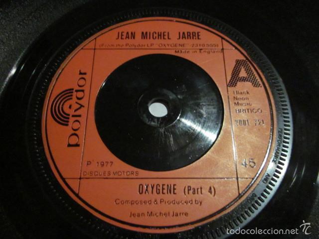 Discos de vinilo: JEAN MICHEL JARRE - OXIGENE PART 4 Y 6 - SN - EDICION INGLESA DEL AÑO 1977. - Foto 3 - 55368278