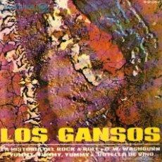 Discos de vinilo: LOS GANSOS - EP VINILO 7'' - EDITADO EN ESPAÑA - LA HISTORIA DEL ROCK & ROLL + 3 - RCA VICTOR - 1968. Lote 55368448