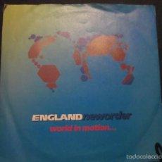 Discos de vinilo: NEW ORDER - WORLD IN MOTION - SN - EDICION INGLESA DEL AÑO 1990.. Lote 55368570