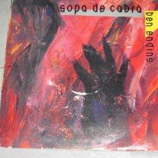 Discos de vinilo: SOPA DE CABRA - BEN ENDINS - MADE IN SPAIN - SALSETA DISCOS - 1991 - INC LIBRETO - IBL -. Lote 55369720