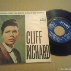 Discos de vinilo: EP CLIFF RICHARD TOUCH ENOUGH RARO. Lote 55371120