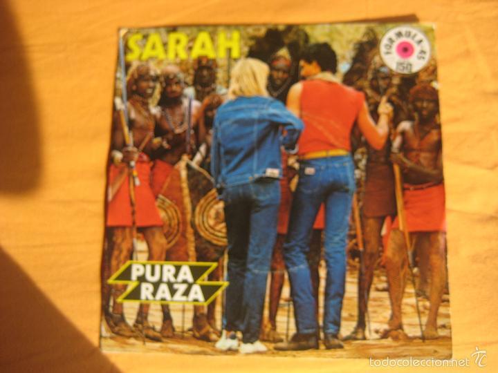 PURA RAZA LOIS SG EMI 1983 PUBLICIDAD TVE (MIRIAM MAKEBA PATA PATA) (Música - Discos - Singles Vinilo - Bandas Sonoras y Actores)