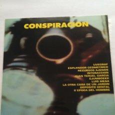 Discos de vinilo: VINILO CONSPIRACION-VARIOS-DISCOS PROCESO UVEGRAF-1986-COMPLETO CON HOJAS PROMO-SIN USO. Lote 55375861