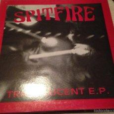 Discos de vinilo: SPITFIRE - TRANSLUCENT EP - MAXI UK EVE RECORDINGS 1991 - GARAGE ROCK PSYCH. Lote 55377554