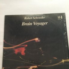 Discos de vinilo: VINILO ROBERT SCHROEDER-BRAIN VOYAGER-1985. Lote 55378617