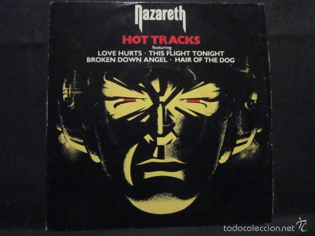 NAZARETH - HOT TRACKS - SN - 4 TEMAS - EDICION INGLESA. (Música - Discos - Singles Vinilo - Pop - Rock - Extranjero de los 70)
