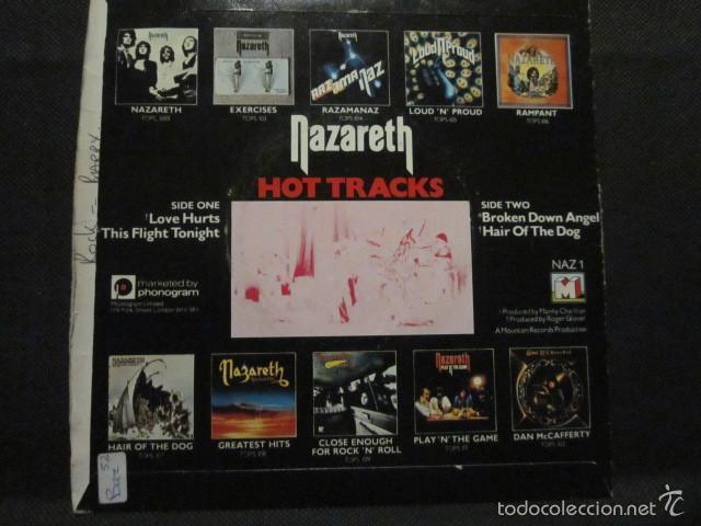 Discos de vinilo: NAZARETH - HOT TRACKS - SN - 4 TEMAS - EDICION INGLESA. - Foto 2 - 55378621