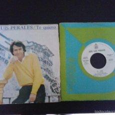 Discos de vinilo: 2 SINGLES JOSÉ LUIS PERALES PROMO Y PORTUGUÉS. Lote 55381548
