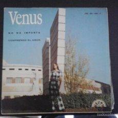 Discos de vinilo: SINGLE RARO VENUS NO ME IMPORTA / COMPRENDO EL AMOR LABEL: BERTA– FM 68.180. Lote 55381686