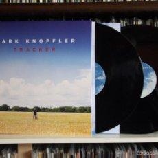 Discos de vinilo: MARK KNOFLER. TRACKER. DOBLE LP. BRITISH GROVE RECORDS, NUEVO, GATEFOLD. Lote 102721524