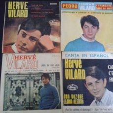 Discos de vinilo: LOTE 4 SINGLES HERVE VILARD. Lote 55381991