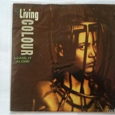 Discos de vinilo: LIVING COLOUR - LEAVE IT ALONE (PROMO 1992). Lote 55385880