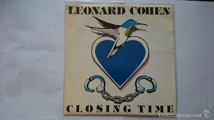 LEONARD COHEN - CLOSING TIME (PROMO 1992) (Música - Discos - Singles Vinilo - Pop - Rock Internacional de los 90 a la actualidad)