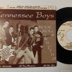 Disques de vinyle: THE TENNESSEE BOYS EP 4 TEMAS. Lote 287771843