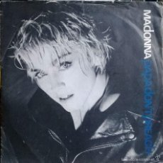 Discos de vinilo: MADONNA. PAPA DON'T PREACH/ AIN'T NO BIG DEAL. SIRE, UK 1984 SINGLE. Lote 55389207
