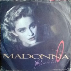 Discos de vinilo: MADONNA. LIVE TO TELL (BSO)/ INSTRUMENTAL. SIRE, UK 1986 SINGLE. Lote 55389238