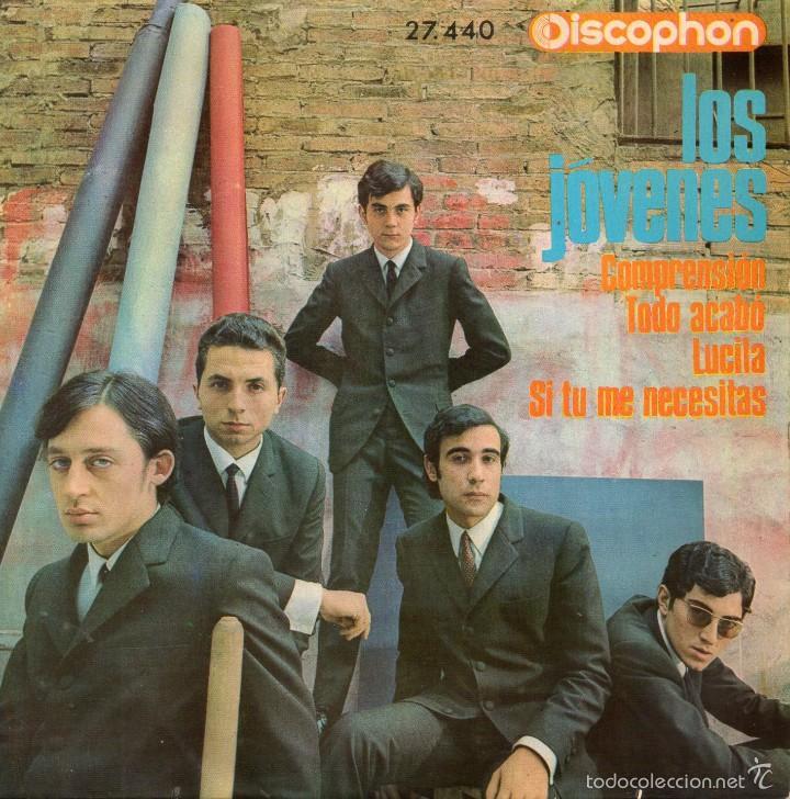JOVENES, EP, COMPRENSION + 3, AÑO 1965 (Música - Discos de Vinilo - EPs - Grupos Españoles 50 y 60)