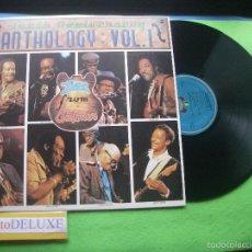 Discos de vinilo: VARIOS - BLUES - TENTH ANNIVERSARY ANHOLOGY VOL.1 LP 1986 PDELUXE. Lote 55392763