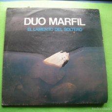 Discos de vinilo: DUO MARFIL - EL LAMENTO DEL SOLTERO - SOCIEDAD FONOGRAFICA ASTURIANA - LSFA-49 - 1983 ASTURIAS. Lote 55393327