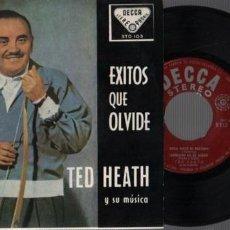 Discos de vinilo: DISCO DE DECCA STO 103 - EXITOS QUE OLIVIDE - TED HEATH Y SU MÚSICA. Lote 55396301
