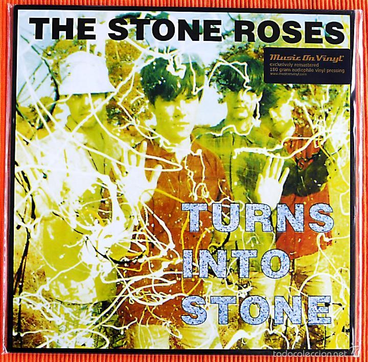 THE STONE ROSES - TURNS INTO STONE 180G AUDIOPHILE LP MUSIC ON VINYL PRECINTADO (Música - Discos de Vinilo - EPs - Pop - Rock Extranjero de los 90 a la actualidad)