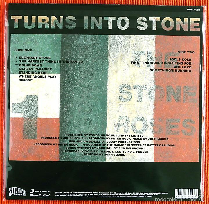 Discos de vinilo: THE STONE ROSES - TURNS INTO STONE 180g Audiophile LP Music On Vinyl Precintado - Foto 2 - 55402322