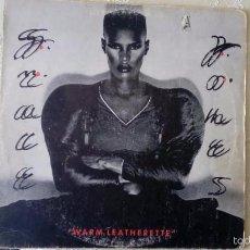 Discos de vinil: LP WARM LEATHERETTE - GRACE JONES - LP ISLAND 1980 -. Lote 55402900