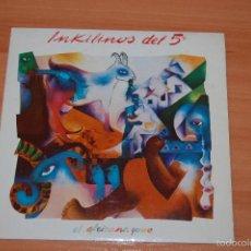Discos de vinilo: EP DISCO VINILO INKILINOS DEL 5º EL AFRICANO +1. Lote 55422143