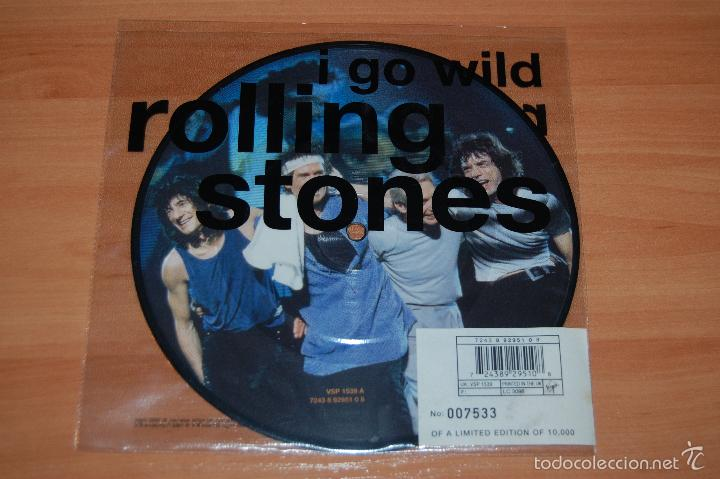EP DISCO VINILO EDICION LIMITADA ROLLING STONES I GO WILD NUEVO (Música - Discos de Vinilo - EPs - Grupos Españoles de los 90 a la actualidad)