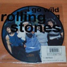 Discos de vinilo: EP DISCO VINILO EDICION LIMITADA ROLLING STONES I GO WILD NUEVO. Lote 55422359