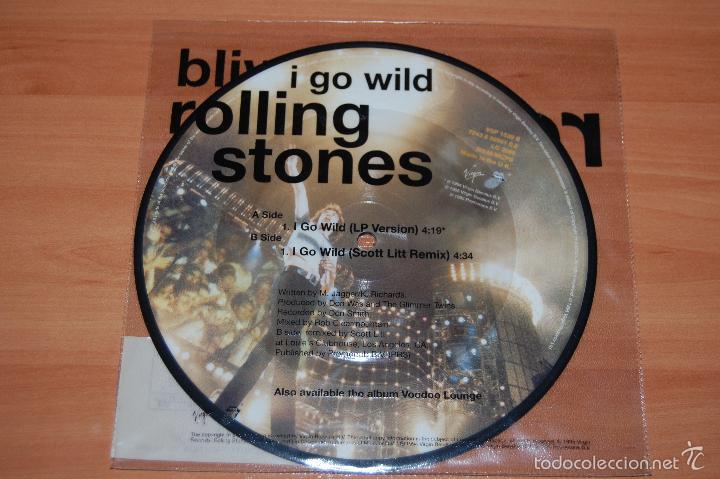 Discos de vinilo: EP DISCO VINILO EDICION LIMITADA ROLLING STONES I GO WILD NUEVO - Foto 2 - 55422359