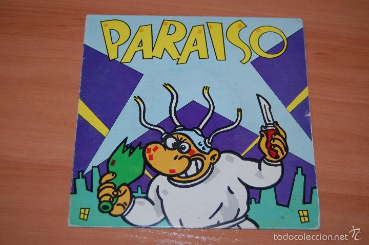 EP DISCO VINILO PARAISO MAKOKI +3 (Música - Discos de Vinilo - EPs - Grupos Españoles de los 90 a la actualidad)