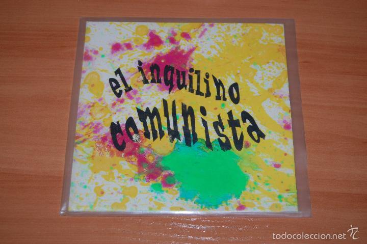 EP DISCO VINILO EL INQUILINO COMUNISTA DOMESTIC LIES +2 (Música - Discos de Vinilo - EPs - Grupos Españoles de los 90 a la actualidad)