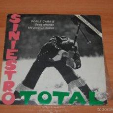 Discos de vinilo: EP DISCO VINILO SINIESTRO TOTAL SEXO CHUNGO + ME PICA UN HUEVO. Lote 55424091