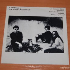 Disques de vinyle: EP DISCO VINILO A LITTLE TRIBUTE TO THE JESUS AND MARY CHAIN. Lote 55424656