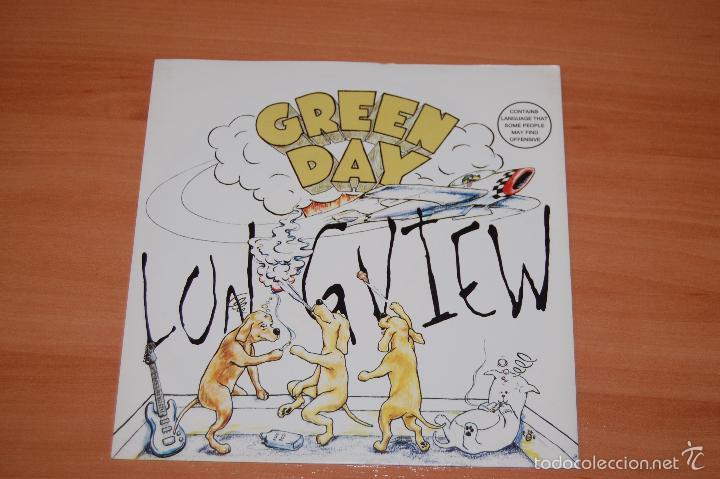 EP DISCO VINILO GREEN DAY LONGVIEW + 1 (Música - Discos de Vinilo - EPs - Grupos Españoles de los 90 a la actualidad)