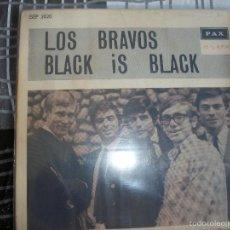 Discos de vinilo: LOS BRAVOS - BLACK IS BLACK + 3 -EP ISRAEL. Lote 55451880
