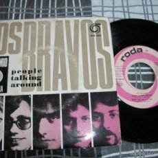 Discos de vinilo: LOS BRAVOS - PEOPLE TALKING AROUND + 3 - EP PORTUGAL. Lote 55452674