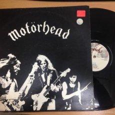 Discos de vinilo: MAXI HEAVY METAL MOTÖRHEAD EDICION INGLESA 1977 CONTIENE TEMAS MOTORHEAD - CITY KIDS. Lote 55518014