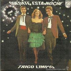 Discos de vinilo: TRIGO LIMPIO SINGLE SELLO PHILIPS AÑO 1980 EDITADO EN ESPAÑA FESTIVAL DE EUROVISION. Lote 55522742