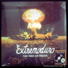 Disques de vinyle: EXTREMODURO LP PARA TODOS LOS PÚBLICOS 2013 ORIG PRECINTADO 180 G LP+CD. Lote 55532253