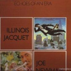 Discos de vinilo: LP-ILLINOIS JACQUET/JOE NEWMAN ECHOES OF AN ERA ROULETTE MARFER 33 SPAIN 1981 DOBLE LP JAZZ. Lote 55558024
