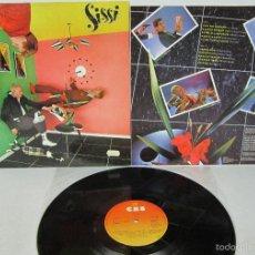 Discos de vinilo: SISSI - SISSI - LP - CBS 1980 SPAIN CON LETRAS - MOVIDA MADRILEÑA - MINT. Lote 55560773