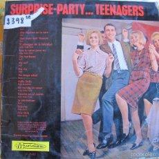 Discos de vinilo: LP - SURPRISE-PARTY...TEENAGERS - VARIOS, ORQUESTA DIRIGIDA POR CLAUDE VASORI (SPAIN, MUSIDISC 1965). Lote 100529432