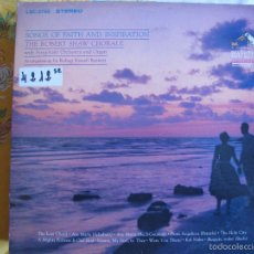 Disques de vinyle: LP - THE ROBERT SHAW CHORALE - SONGS OF FAITH AND INSPIRATION (USA, RCA RECORDS 1964). Lote 55568244