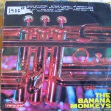 Discos de vinilo: LP - THE BANANA MONKEYS - SAME (SPAIN, DISCOS VERGARA 1967). Lote 100529463