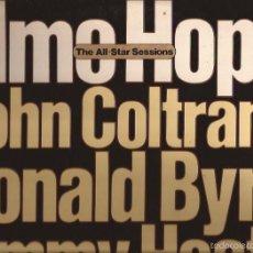 Discos de vinilo: LP-ELMO HOPE ALL STAR SESSION HISPAVOX MILESTONE 500 183/84 SPAIN 1976 COLTRANE BYRD HEATH JAZZ. Lote 55569010