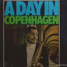 Discos de vinilo: LP-DEXTER GORDON & SLIDE HAMPTON A DAY IN COPENHAGEN MPS 35 53169 SPAIN 1975 GATEFOLD JAZZ. Lote 55569519