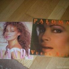 Discos de vinilo: LP PALOMA SAN BASILIO EN GRANDE. HISPAVOX 1987 Y VUELA ALTO. HISPAVOX 1986. AMBOS SIN ESTRENAR. Lote 55571311